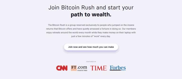 Bitcoin Rush Betrug