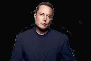 Gesicht von Elon Musk