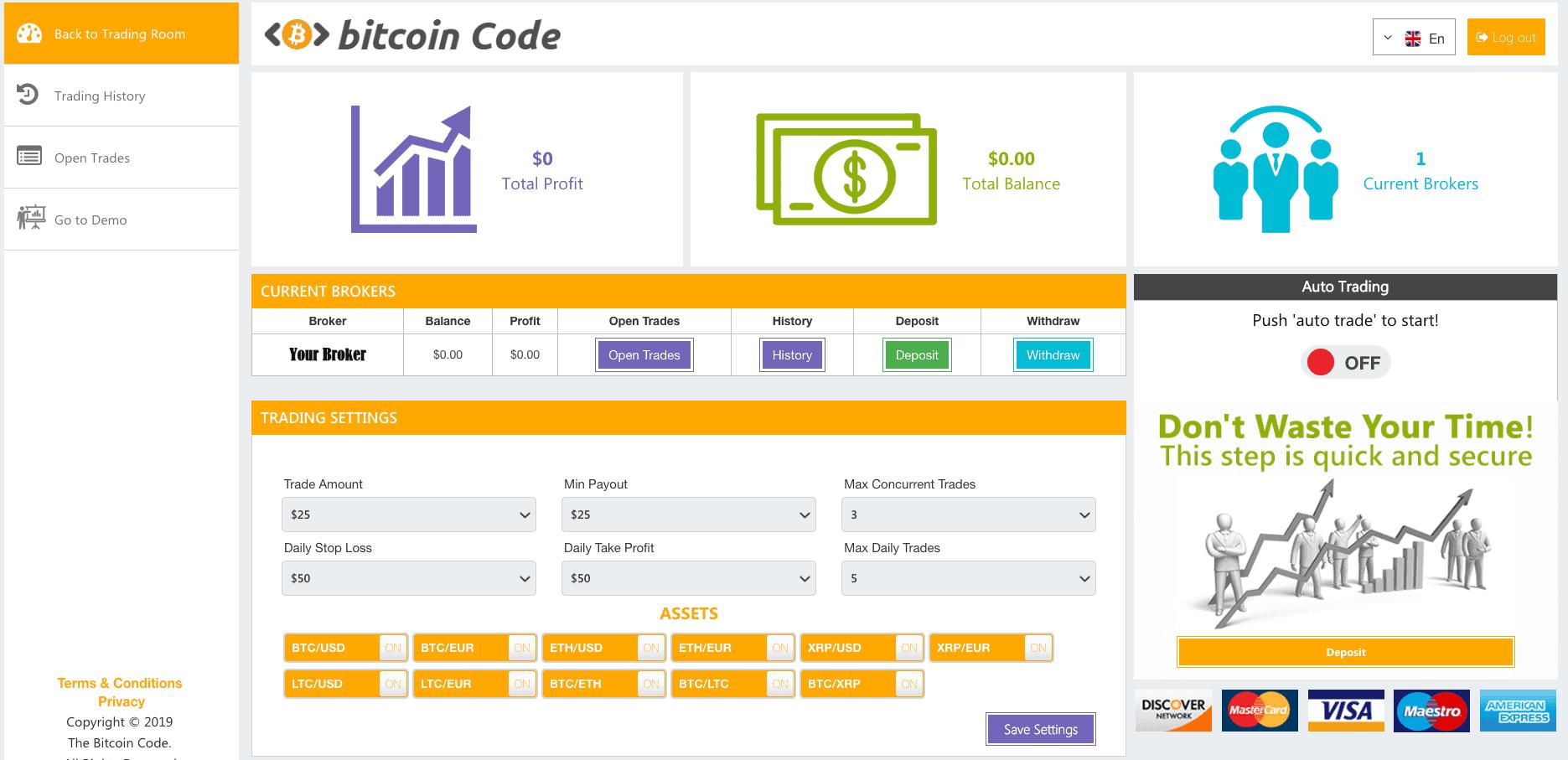Bitcoin Profit Review: Botul automat de tranzacționare pentru Bitcoin