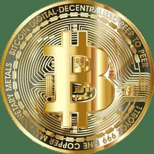 goldene Münze btc
