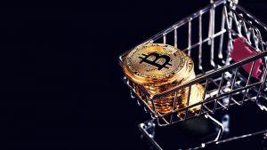 Bitcoiny w koszyku